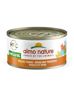 Almo Nature Chat Thon & Poulet 24x70g