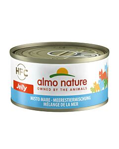 Almo Nature Katze Meerestiermischung 24x70g