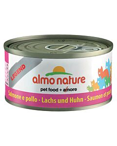 Almo Nature  HFC Jelly Lachs & Huhn Dose 24x70g