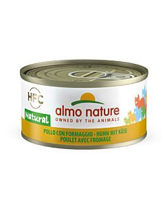 Almo Nature Chat Poulet & Fromage 24x70g