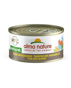 Almo Nature Chat Thon & Jeunes Sardines 24x70g