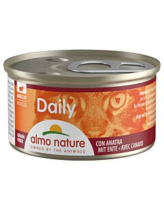 Almo Nature Daily Mousse Adult Ente 24x85g