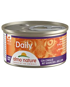 Almo Nature Daily Mousse Adult Kaninchen 85g
