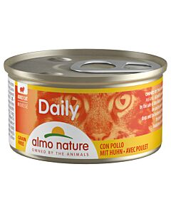 Almo Nature Daily Mousse Adult Huhn 24x85g