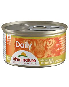 Almo Nature Daily Mousse Adult Pute 24x85g
