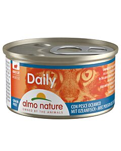 Almo Nature Daily Mousse Adult Ozeanfisch 24x85g