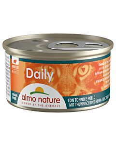 Almo Nature Daily Mousse Adult Thunfisch & Huhn 24x85g