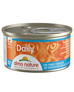 Almo Nature Daily Mousse Adult Thunfisch & Kabeljau 85g