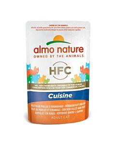 Almo Nature HFC Cuisine Hühnerfilet & Käse 55g