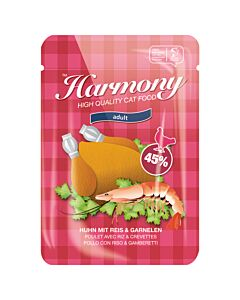 Harmony Cat Huhn mit Reis & Garnelen 80g