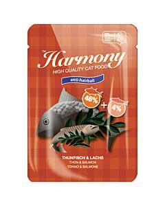 Harmony Cat Anti-Hairball Thunfisch & Lachs 80g