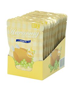 Harmony Senior 7+ Huhn Karton (12x80g)