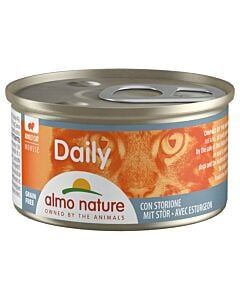 Almo Nature Daily Mousse mit Stör 24x85g