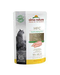 Almo Nature HFC Alternative Cat Hühnerfilet 24x55g