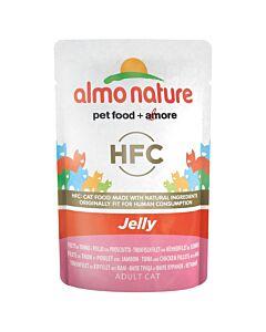 Almo Nature HFC Jelly Cat Thun&Huhn&Schinken 55g