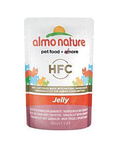 Almo Nature HFC Jelly Cat Thun&Garnelen 55g