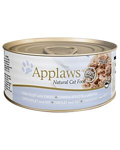 Applaws Tin Tuna Fillet & Cheese 70g