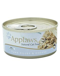 Applaws Tin Tuna Fillet & Cheese 156g