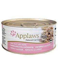 Applaws Tin Tuna Fillet & Prawn 70g