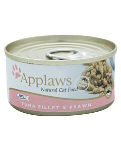 Applaws Tin Tuna Fillet & Prawn 156g