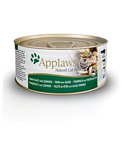 Applaws Tin Tuna Fillet & Seaweed 70g