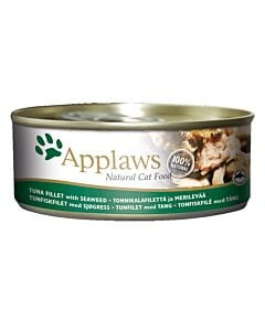 Applaws Tin Tuna Fillet & Seaweed 156g