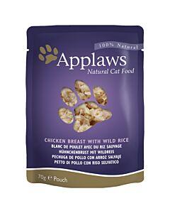 Applaws Pouch Chicken Breast & Wild Rice 70g