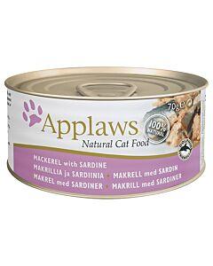 Applaws Tin Mackerel & Sardine 70g