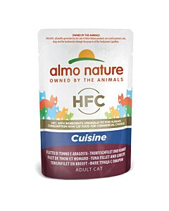 Almo Nature HFC Jelly Thunfischfilet & Languste 55g