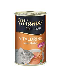 Miamor Trinkfein Vitaldrink für Katzen mit Huhn 135ml