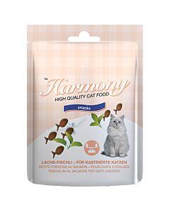 Harmony Cat Snacks Lachs-Fischli 50g