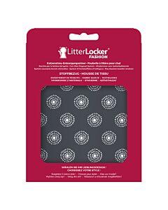 Litter Locker Stoff-Bezug Flowers grey
