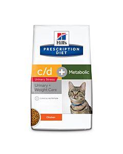 Hill's VET Katze Prescription Diet Metabolic & Urinary Stress Huhn 4kg