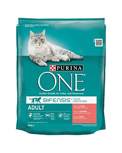 Purina ONE Adult Lachs & Vollkorn 800g