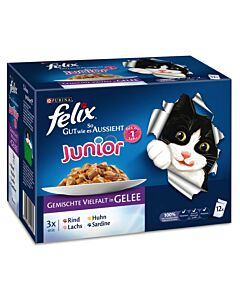 Felix Aussi Bon que Beau Junior multipack 10x4x100g