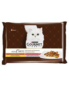 Gourmet Gourmet A la Carte Chefs Rafines 4x85g