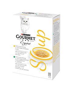 Gourmet Crystal Soup Katzensuppe Huhn, 4x40g