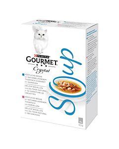 Gourmet Crystal Soup Thunfisch, 4x40g