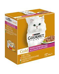 Gourmet Gold Feine Komposition - 8x85g
