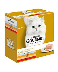 Gourmet Gold Feine Pastete mit Thunfisch 8x85g