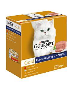 Gourmet Gold Feine Pastete mit Thunfisch 12x8x85g