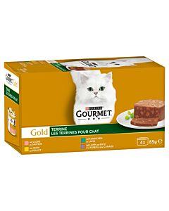 Gourmet Gold Terrine mit Kaninchen 12x4x85g