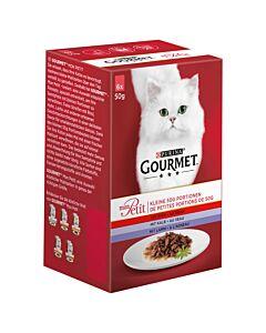 Gourmet Mon Petit mit Rind & Huhn 8x6x50g