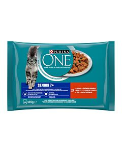 PURINA ONE Maturity Senior 7+ Huhn 12x4x85g
