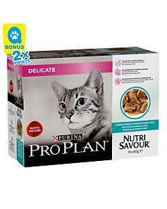 Pro Plan Cat Nutrisavour Delicate (4x10x85g)