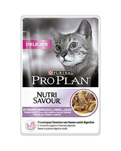 Pro Plan Cat Delicate Truthahn in Sauce  85g