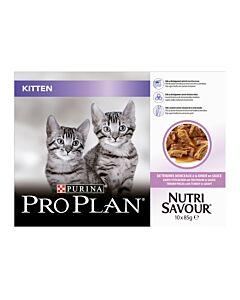 Pro Plan Cat Junior Truthahn in Sauce 4x10x85g