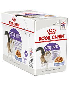 Royal Canin Katze Sterilised Gelée 12x85g