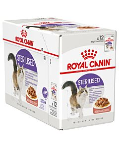 Royal Canin Katze Sterilised Sauce 12x85g