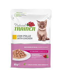 Trainer Feline Natural Kitten Pouch 85g